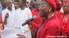 Former Minister of Education, Oby Ezekwesili