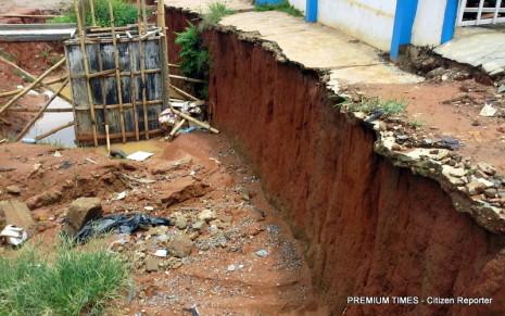 Ejigbo lagos abandoned drainage