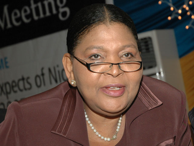 Image result for former Group Managing Director of Ocean Bank Plc, Mrs. Cecilia Ibru