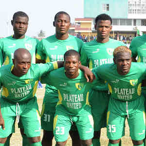Plateau United line up© Kabiru Abubakar/BackpagePix