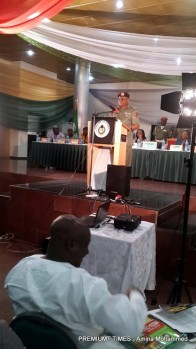 Media chat with NYSC DG 2