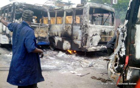 Soldiers destrouing BRT2