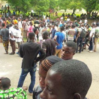Ogun Students  protest