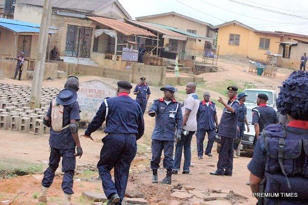 Girl jumps down two-storey building to evade punishment- NSCDC