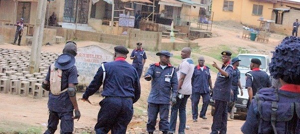 PICTURES FROM SCENE OF assassination attempt on the commandant general NSCDC4