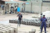 PICTURES FROM SCENE OF assassination attempt on the commandant general NSCDC7