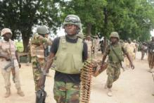 FILE PHOTO: Nigerian troops