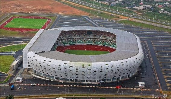 Several injured in stadium stampede during Nigeria-Zambia match