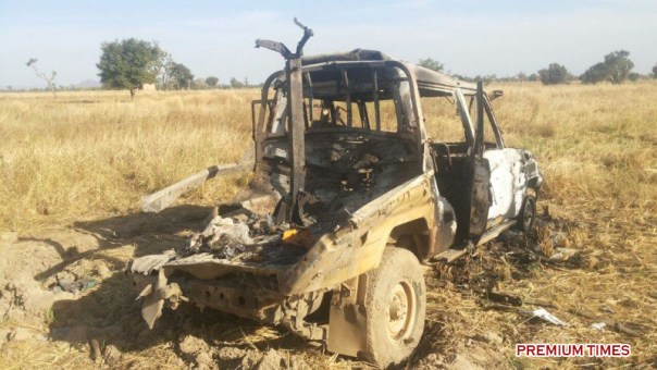 Another Boko Haram weapon destroyed by the Nigerian military