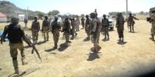 Nigerian Army on duty