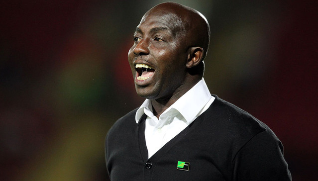 Nigerian footballer and coach, Samson Siasia