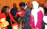 President Jonathan organizes Valentine Day Dinner for widows & children of our fallen heroes who died fighting Boko Haram at the Villa