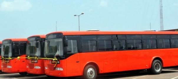 Lagos BRT Buses