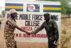 The Mobile Police force Training College recovered in Gwoza
