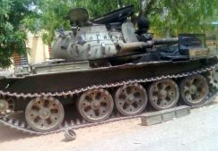 Nigerian Military during operations in Gwoza