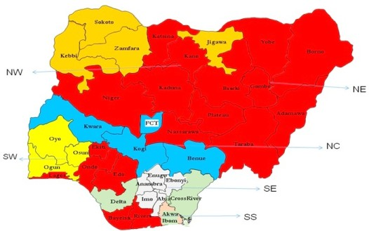 Geography of Electoral Conflict in Nigeria