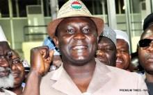 NLC PRESIDENT, COMRADE AYUBA WABBA, GIVING HIS ACCEPTANCE SPEECH