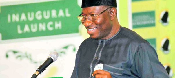 FILE PHOTO: Former President, Goodluck Jonathan