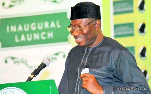 FILE PHOTO: Former President, Goodluck Jonathan