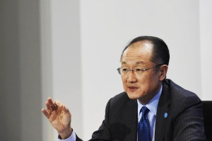 World Bank Group President Jim Yong Kim at a Berlin press conference. Tobia Schwarz / Getty Images