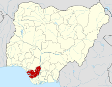 Delta state map.