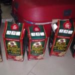 five packs of oats where the money was hidden