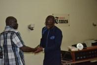 Mr. Laolu Akande(Right) and Mr. Festus Owete(Left)