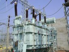 A transformer used to illustrate the story