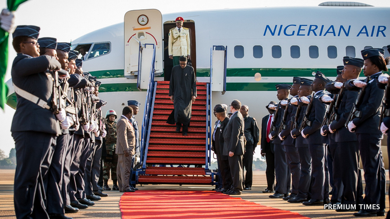 1-Buhari attend AU summit 13June2015 1