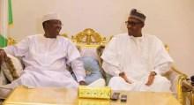 Buhari with Chadian president, Idris Deby