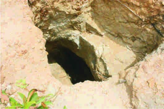Mining pits