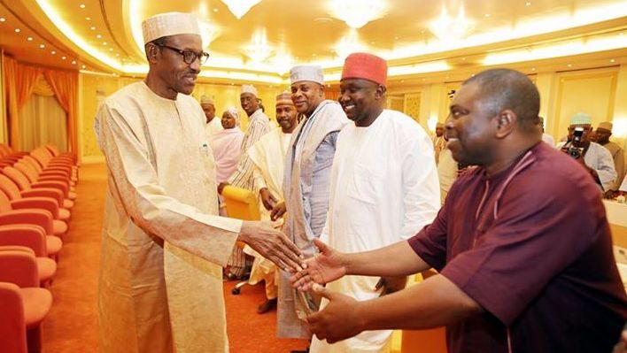 Buhari meets house of reps3