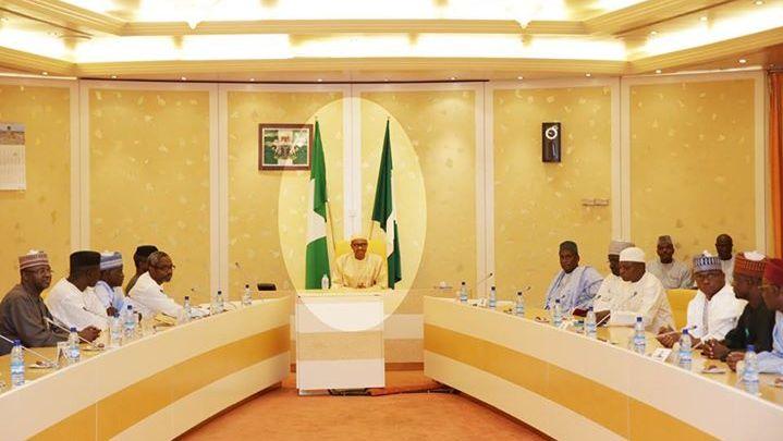 Buhari meets house of reps4