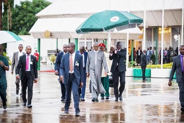 Buhari arrives Benin for election campaign