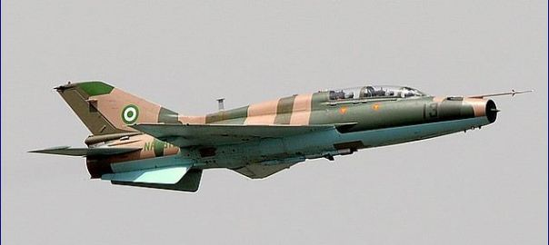 NAF Jet used to illustrate the story