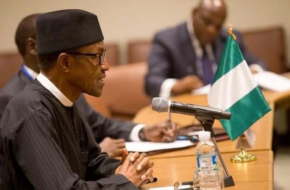Image result for Buhari AT UN