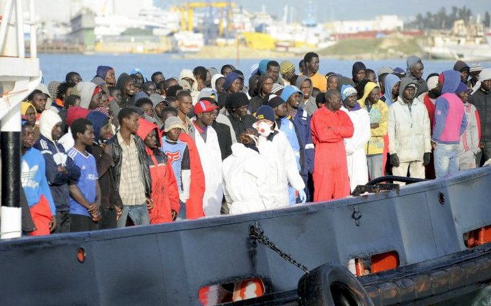 FILE PHOTO: African migrants on Mediterranean; Photo: ibtimes.co.uk