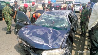 FILE PHOTO: Scene of Accident in Lagos