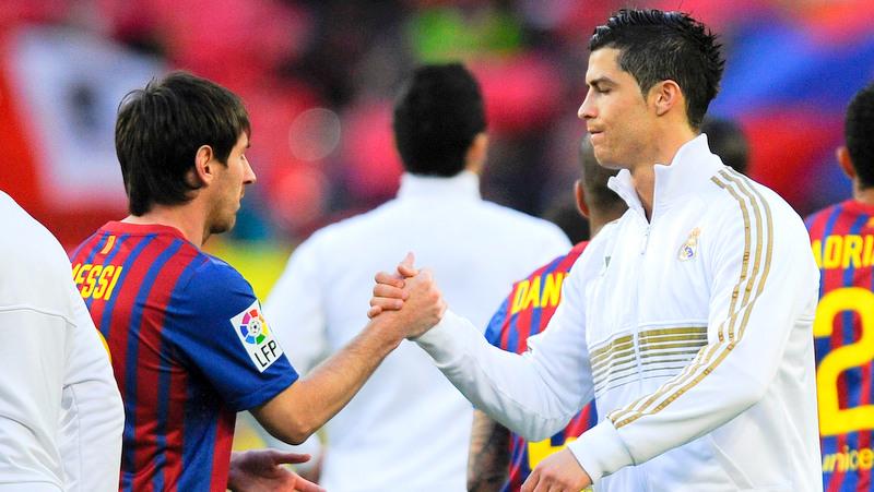 Ronaldo and Messi Photo: EssentiallySports