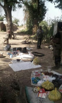 Looted items recovered
