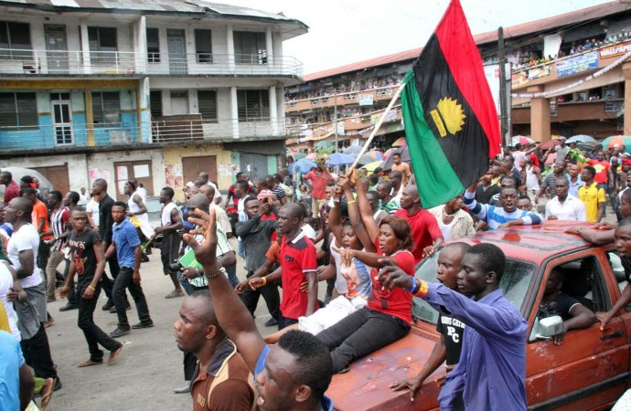 Image result for MASSOB warns against attacks on Igbo in Lagos, others