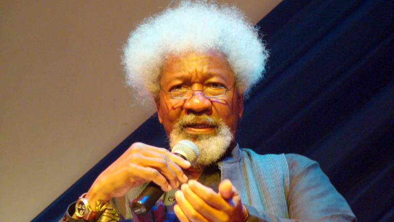 The Nobel laureate, Wole Soyinka