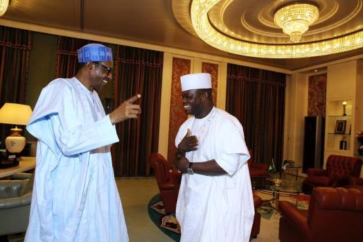 Buhari And Yahaya Bello 2