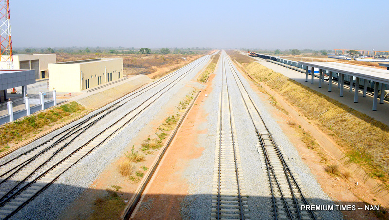 Abuja light rail project 90 completed minister premium times rail tracks connecting abuja kaduna aloadofball Images