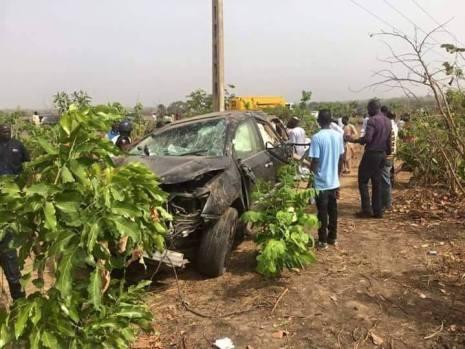 James Ocholi Accident 1