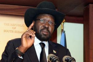 President Salva Kiir [Photo: ChimpReports]