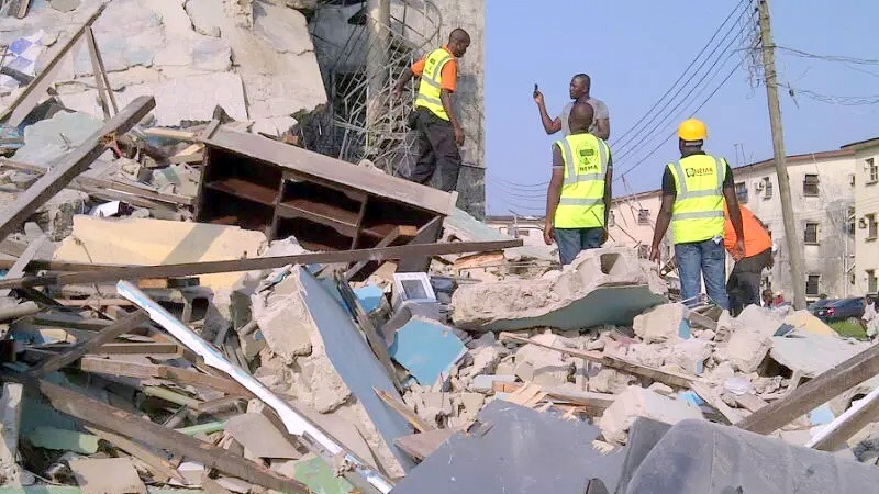 BREAKING: Church building collapses in Akwa Ibom, many feared dead