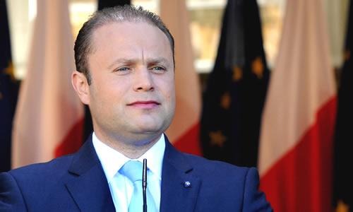 Malta Prime Minister, Joseph Muscat