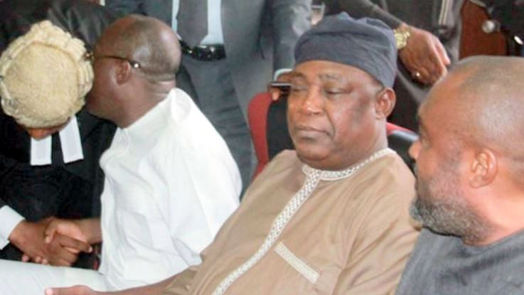 Alex Badeh in court Photo: DailyPost