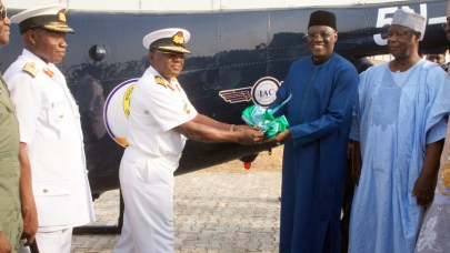 Gov. Abdulfatah Ahmed flags off Helicopter Training at the International Aviation College, Ilorin